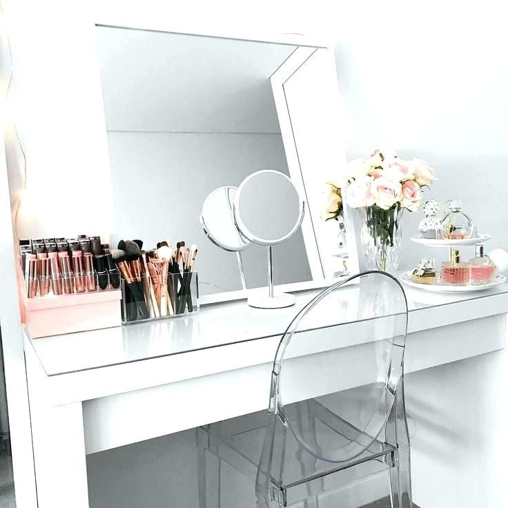 Makeup Vanity Room Inspiration Malm Dressing Table Ikea Malm