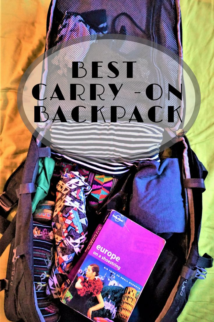 Why the Osprey Farpoint 40 is the best carry-on backpack