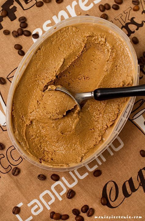 Ekspresowe lody kawowe (bez jajek i maszyny) / Coffee ice cream without eggs and ice cream maker