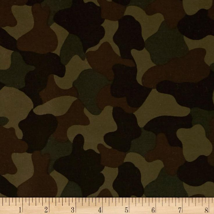 Kaufman 6.35 oz Camo Cotton Printed Twill Olive from @fabricdotcom  From Kaufman Fabrics, this medium weight cotton twill fabric has a soft hand yet very durable. It is perfect to use for sporting apparel like jackets, shorts and pants or utility bags. Colors include brown and green.