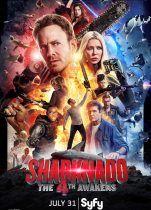 Sharknado 4 Güç Uyanıyor Türkçe Dublaj izle