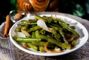 ... green beans julie sahni s bihari green beans masala bihari green beans
