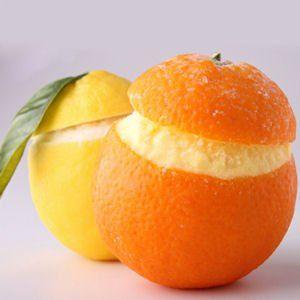 Orange et Citron givré