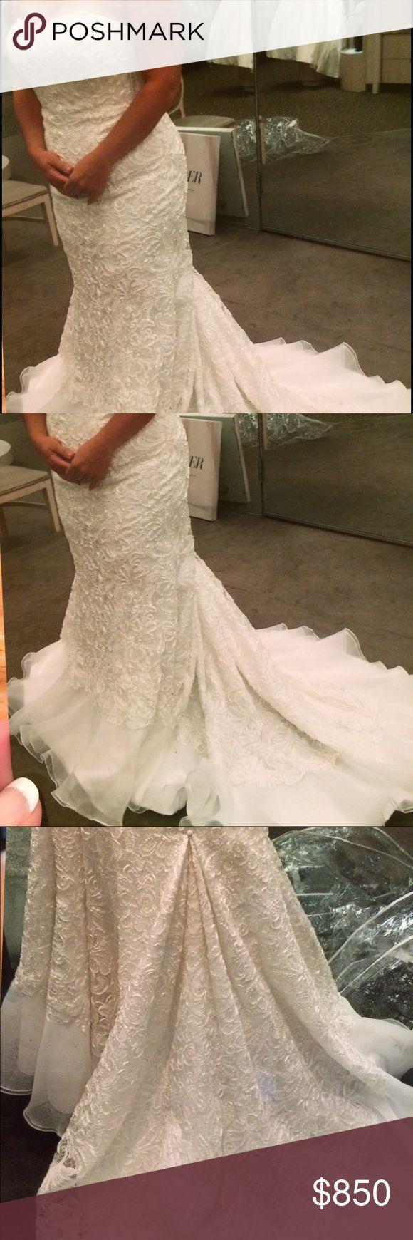Galina Signature wedding gown Street size 14, dress size 16w.  Also listed on Craigslist. Galina Signature Dresses Wedding