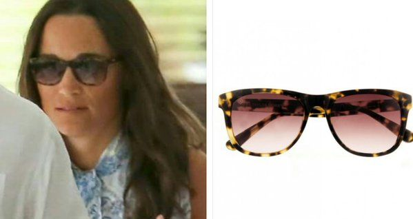 Saratoga tortoise sunglasses by  Taylor Morris Eyewear