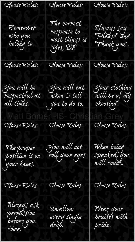master rules Bdsm