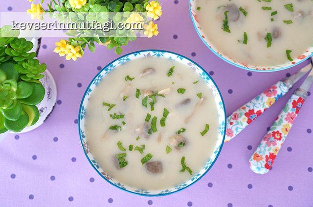 Kremalı Mantar Çorbası Tarifi | Kevserin Mutfağı - Yemek Tarifleri