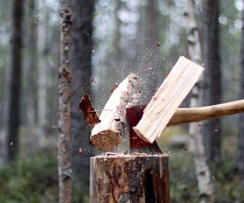Axe & Wood