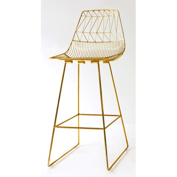 Lucy Counter Stool by Bend Goods (Finish: Bend Gold)