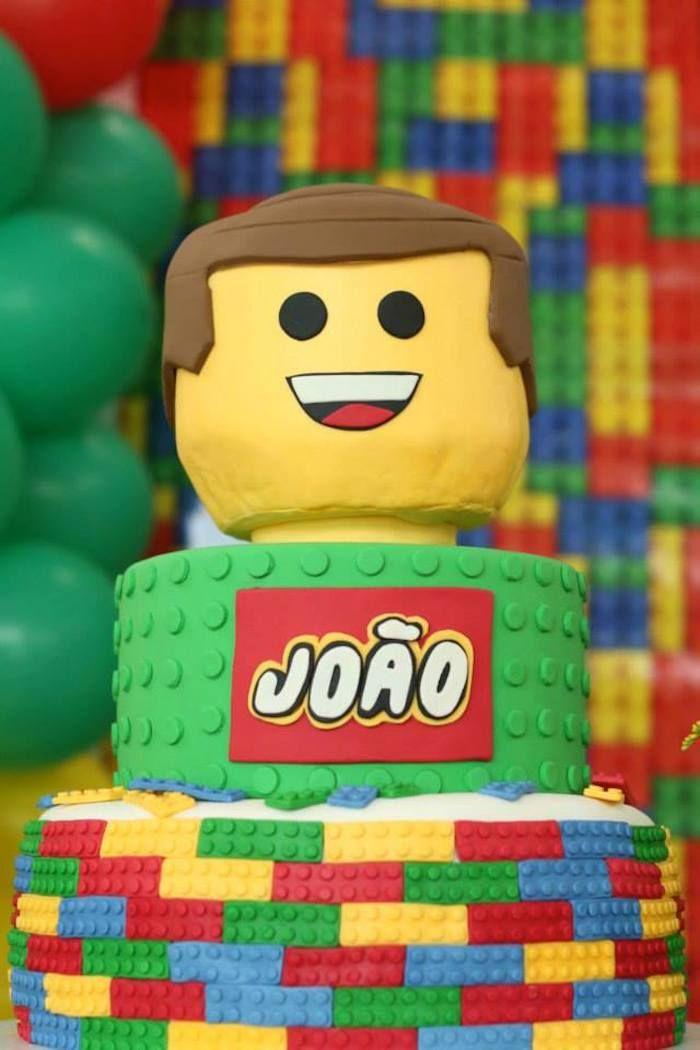 Lego Movie birthday party: The Cake