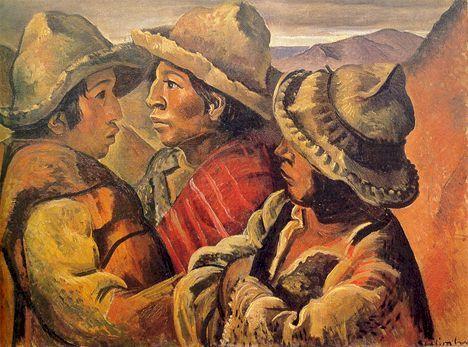 Lino Eneas Spilimbergo    tres-indios