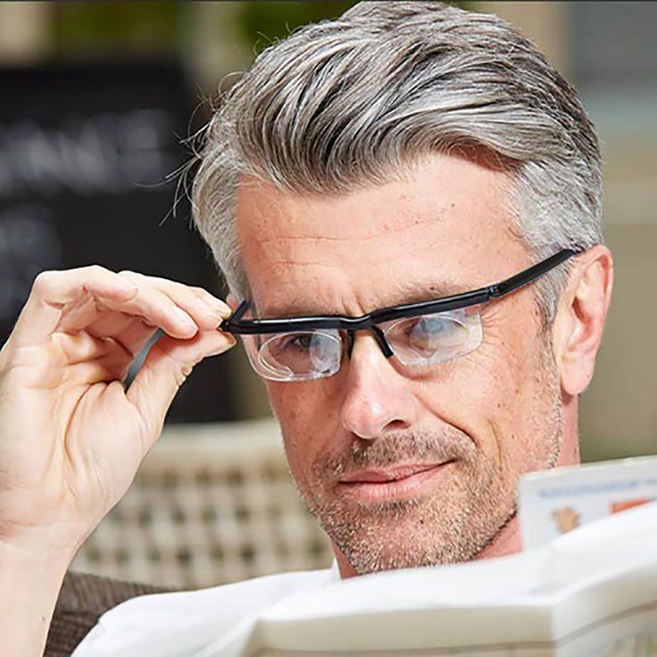 """いつも""""ピッタリ""""見えるメガネ 度数を自由に調節できるので、視力測定要らず"""