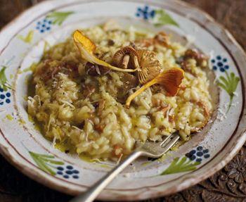 Antonio Carluccio's mushroom risotto http://www.eatout.co.za/recipe/antonio-carluccios-mushroom-risotto/