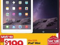 Walmart unwraps Black Friday tech deals Starting November 27, the retail chain is offering the original 16GB iPad Mini for $199 and an Android tablet for just $29.