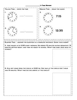 1000+ images about MATH--TIME on Pinterest   To tell, Anchor ...