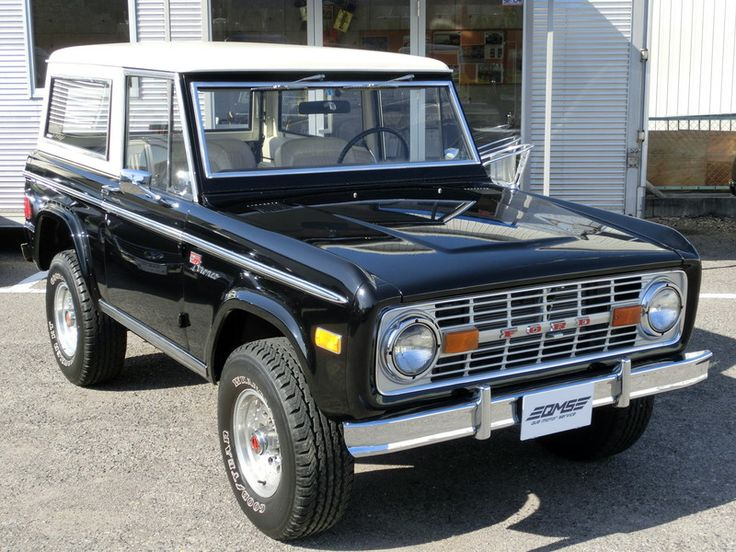 Ford Bronco - saw these at the Carlisle car show - they looked like so much fun!