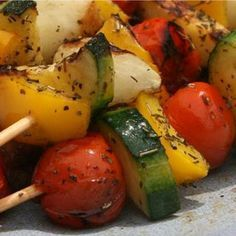 #Ricetta Spiedini di verdure