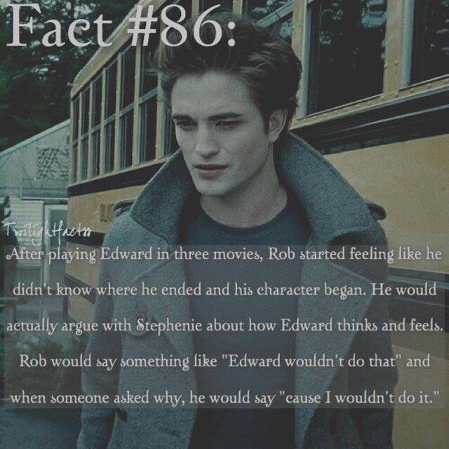 "146 Synes godt om, 2 kommentarer – Twilight Facts (@twilightfactss) på Instagram: ""~ I feel like Rob has mixed feelings towards Twilight. He's jokes about how he dislikes Twilight,…"""