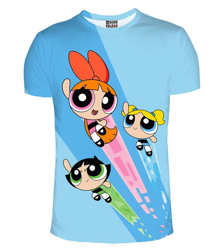 Powerpuff Girls t-shirt, Mr. GUGU & Miss GO