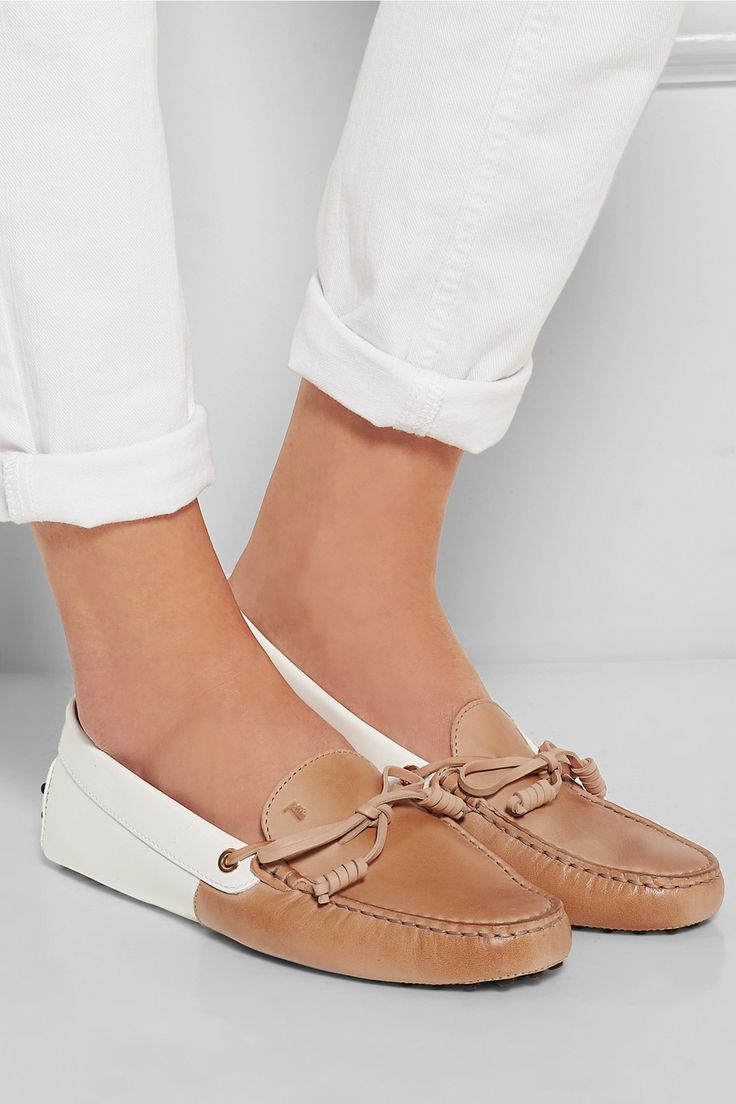 Tod's are a classic favorite. Go sockless with comfort in Gekks! www.mygekks.com