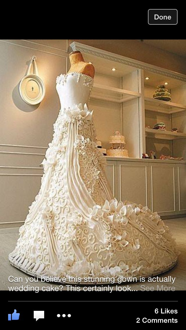 And believe it or not, but this is an actual wedding cake !!! Holy crap @LadyLucero @10sharon07  #foodista.com