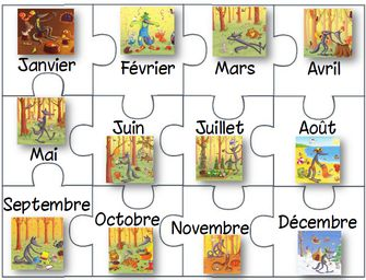 78 best images about les saisons les mois on pinterest seasons montessori and french posters - Saisons de l annee ...