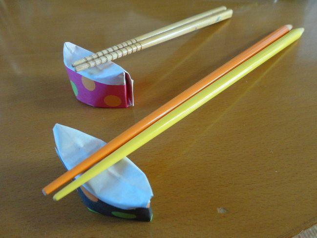 簡単 折り紙 折り紙で作る箸置き : es.pinterest.com