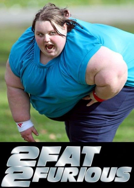"This was listed as ""Epic Funny Fat Girls"". I do not see anything funny about it. To see this obviously obese woman exercising is a testament to her strength. No one knows her story the how or why she is in the shape she is. However, society is judging her only by her outward appearance. I say you go girl!"