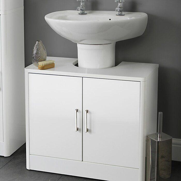 Bednar 60cm Free Standing Vanity Unit Base Bathroom Storage Units Bathroom Cabinets Uk Bathroom Vanity Base