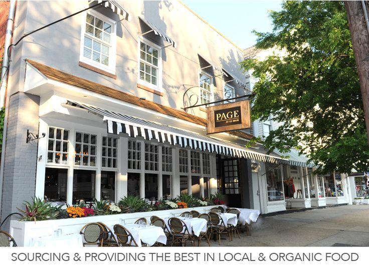 Page 63 Main Restaurant Sag Harbor Hamptons Amazing Salads Nyc Foodie Map Pinterest