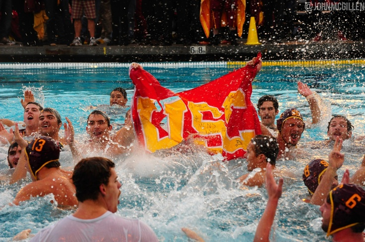 USC Water Polo 5-Peat National Champs!!