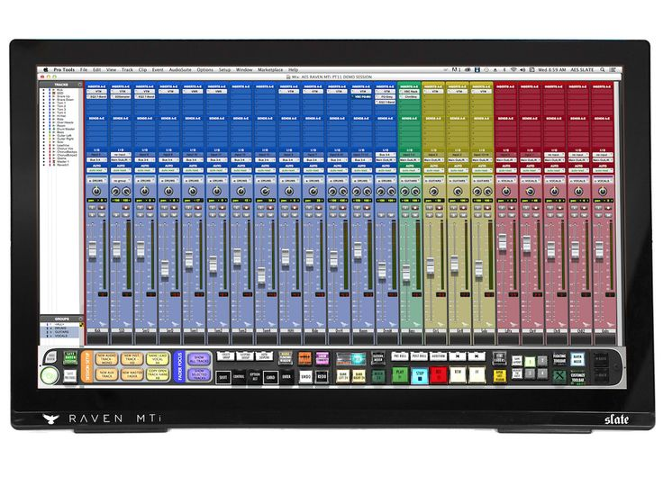 Slate Media Technology is proud to introduce the newest addition to the RAVEN family of Multi-Touch Control Surfaces, the MTi2.The new RAVEN 3.0 software update, that now supports EVERY MAJOR DAW …