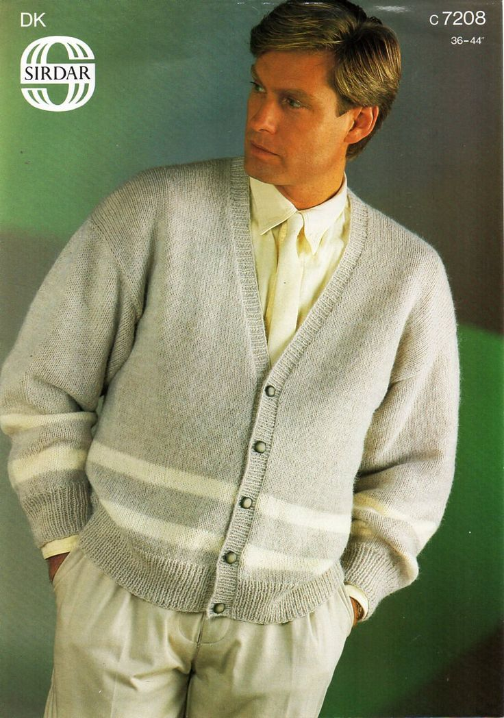 287 best images about Vintage Mens knitting patterns / Mens Knit Patterns on ...