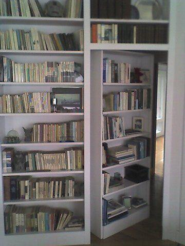 Secret Swing In Bookcase Passage