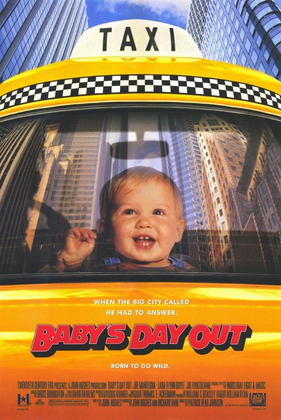 Baby's Day Out. All 3 of my kiddos loved this, but my youngest wore out the VHS tape. Lol yes, I said VHS.