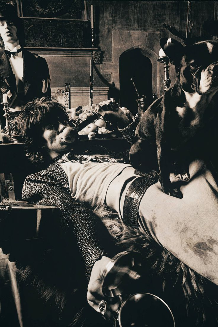 Keith & Pug with Mick at Sarum Chase, Beggars Banquet | Michael Joseph, 1968