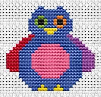 Sew Simple Owl cross stitch kit