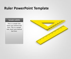 Free Ruler Powerpoint Template Is A Free Ppt Presentation Template