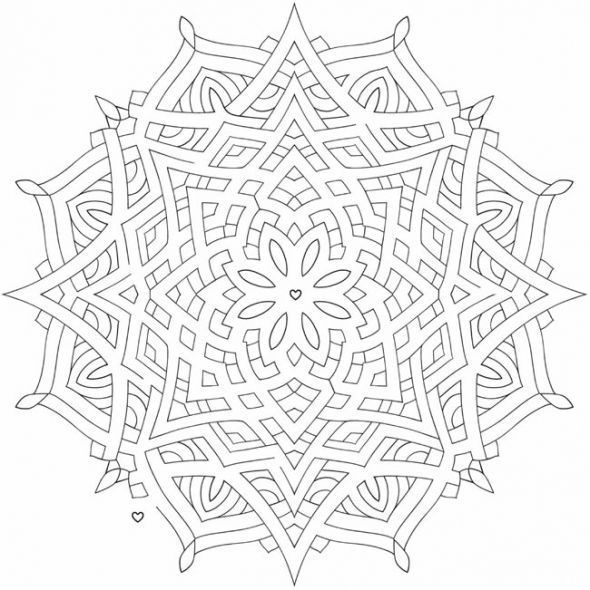 Celtic mandala coloring pages coloring pages for Celtic knot mandala coloring page