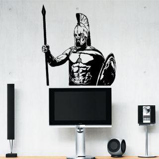 Наклейка для дома от 2stick.ru Непобедимый спартанский воин