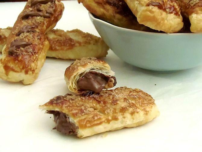 Sfogliatine alla Nutella da fare in 5 minuti