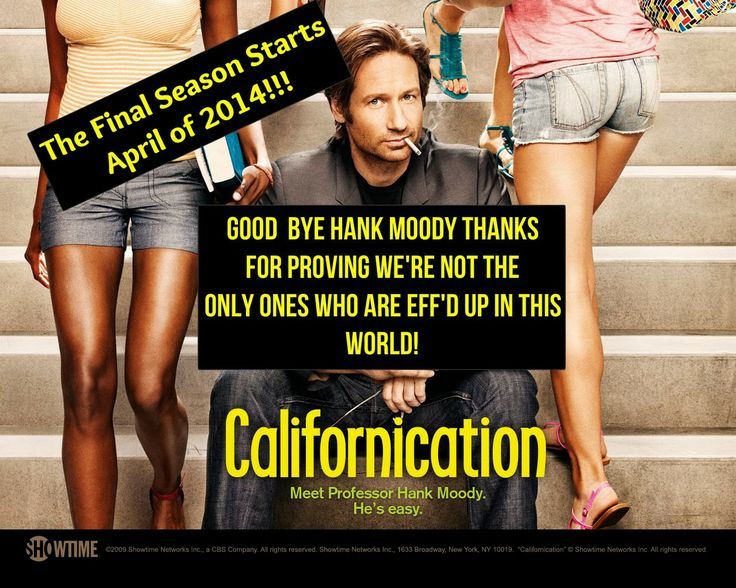 The Entertainment of Life: TV Series Ending: Californication Will End on Its Seventh Season. #Showtime #Californication #TV