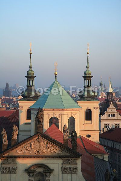 Church of the Most Holy Saviour in Klementinum, Prague, Czech Republic