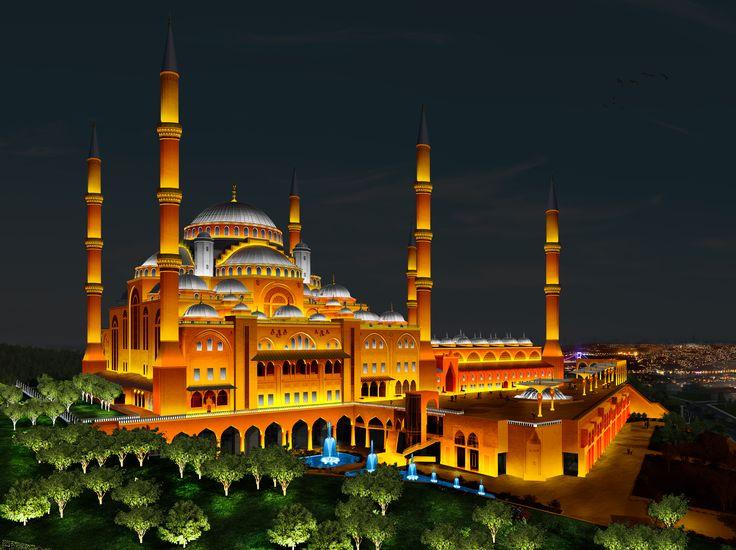 Çamlıca Camii - Aydınlatio | Mimari Aydınlatma Tasarımı
