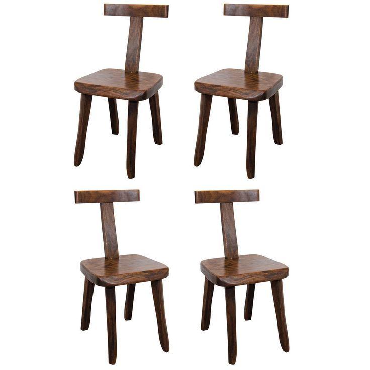 Suite of 4 teak Olavi Hanninen chairs - Finland 1959 ipso facto | From a unique collection of antique and modern chairs at https://www.1stdibs.com/furniture/seating/chairs/