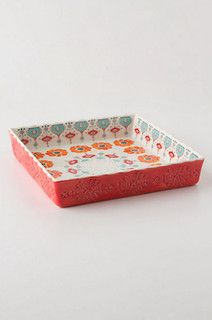 Poppy Ring Brownie Dish - eclectic - cookware and bakeware - by Anthropologie