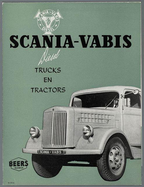 Scania Vabis advertentie