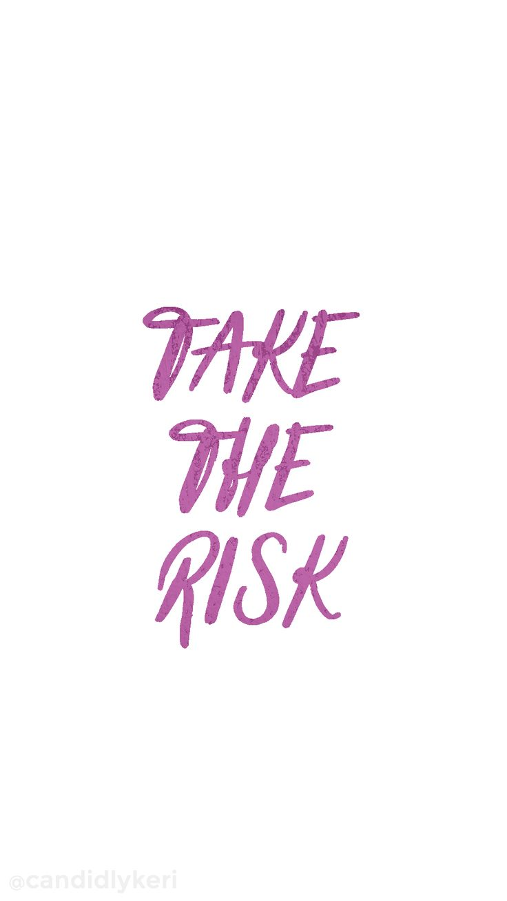 Take the risk purple inspirational wallpaper you can download for free on the blog! For any device; mobile, desktop, iphone, android!