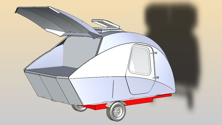 Build-your-own Teardrop Trailer Kit and Plans