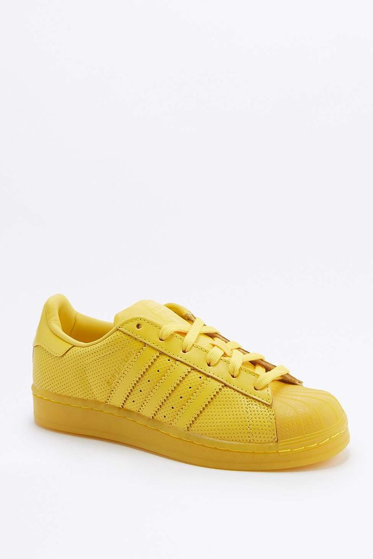 adidas Originals - Baskets Superstar Adicolour jaunes